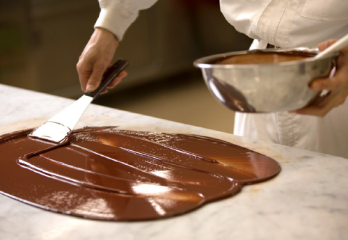Chocolate flavor-making technology